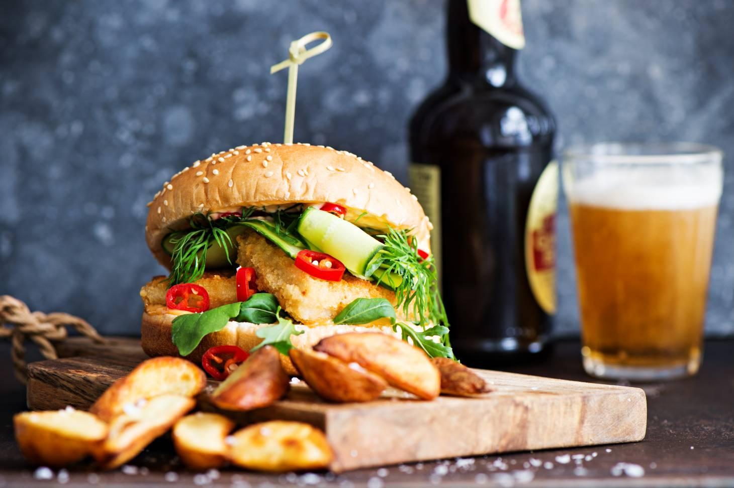 Tulinen tyrmäysburgeri - Juhannuksen grillimenu - Vaasan