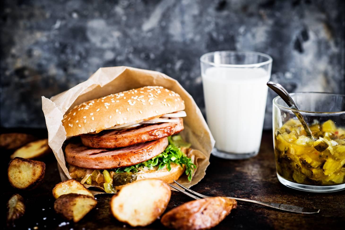 Räpyläburgeri - Juhannuksen grillimenu
